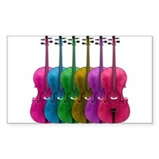Colorful Cello Decal