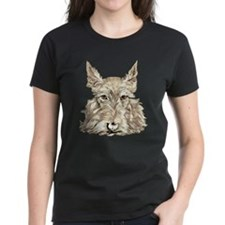 Wheaten Scottish Terrier Tee