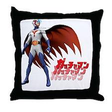 Mark/Ken Washio Throw Pillow