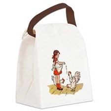 Chicken Canvas Lunch Bag