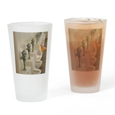 2-cantseeme Drinking Glass