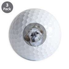 Shih Tzu Golf Ball