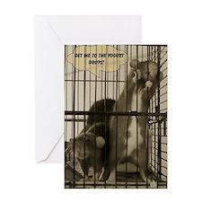 Jailbreak Greeting Card
