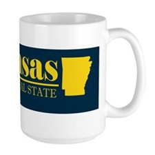2-Arkansas Gold Bumper 2 Mug