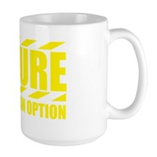 FailureOptionYellow Mug