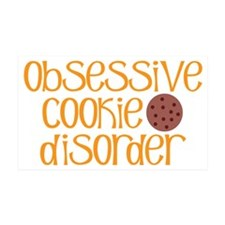 Obsessive Cookie Disorder R Wall Decal
