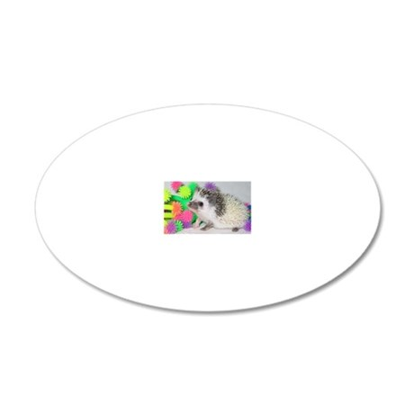 025 20x12 Oval Wall Decal