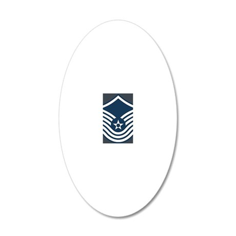 USAF-SMSgt-Old-Journal-2 20x12 Oval Wall Decal