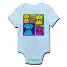 Golden Retriever Art Infant Bodysuit