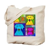 Golden Retriever Art Tote Bag