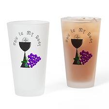 Eucharist Chalice Drinking Glass