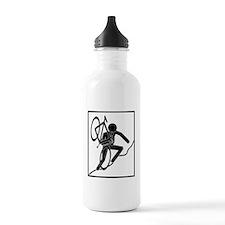 cross_wht Sports Water Bottle