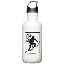 cross_wht Water Bottle