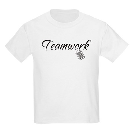 Teamwork Tag -- Priceless Kids T-Shirt
