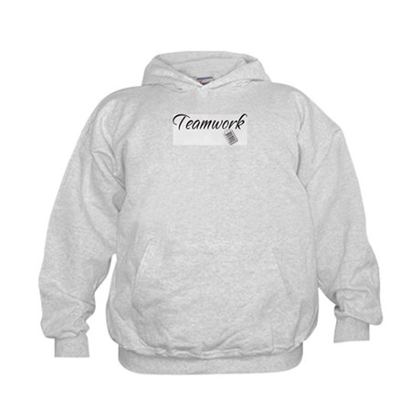 Teamwork Tag -- Priceless Kids Hoodie