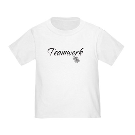 Teamwork Tag -- Priceless Toddler T-Shirt