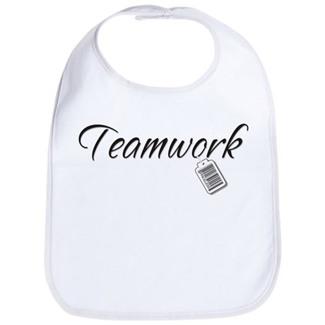 Teamwork Tag -- Priceless Bib