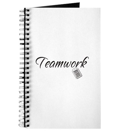 Teamwork Tag -- Priceless Journal