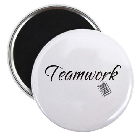 Teamwork Tag -- Priceless Magnet
