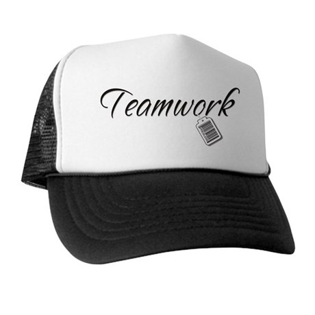 Teamwork Tag -- Priceless Trucker Hat