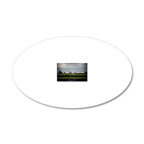 Envy 20x12 Oval Wall Decal