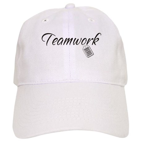 Teamwork Tag -- Priceless Cap