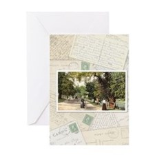 collage vertical Greeting Card