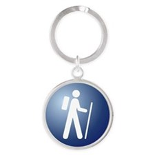 icon_large_hiking Round Keychain