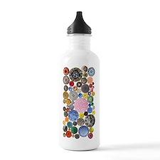 Buttons Water Bottle Water Bottle
