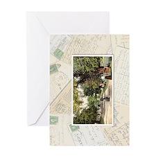collage horizontal Greeting Card
