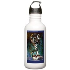 hourglass-poster-12s Water Bottle