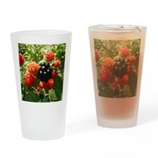 Berries Drinking Glass