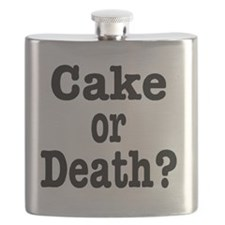 cake or death Flask
