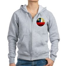 Chile Football Zip Hoodie