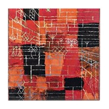 Paul Klee - Configuration Perspective Tile Coaster