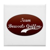 Team Brussels Tile Coaster