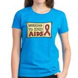 Working to End AIDS Tee