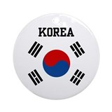 Korea Ornament (Round)