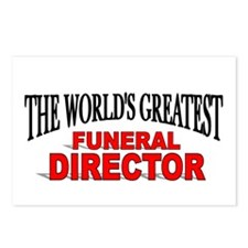 """The World's Greatest Funeral Director"" Postcards"
