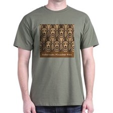 Fawn Doberman Fan T-Shirt