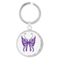 May is Lupus Awareness Month! Round Keychain
