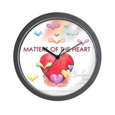 20x20cm_Logo Matters of the Heart Wall Clock