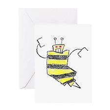 beesknees2 Greeting Card