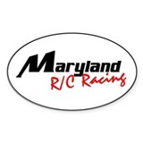 MD Rc Oval Logo Bumper Stickers