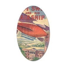 Tom Swift and his Airship Wall Decal