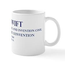 Tom Swift Convention in Blue Mug