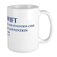 Tom Swift Convention in Blue Mug