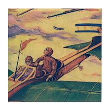 Tom Swift and Sky Racer Tile Coaster