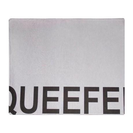 Queefer Throw Blanket