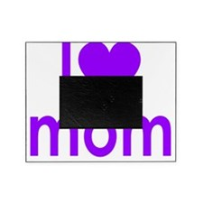 I Heart mom Picture Frame